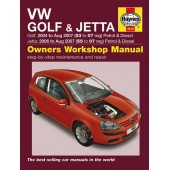 Haynes manual: VW Golf & Jetta Petrol & Diesel (04-07) 53 to 07