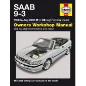 Haynes Saab 9-3 Petrol & Diesel (98 - Aug 02) R to 02
