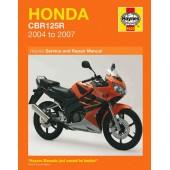 Haynes manual: Honda CBR125R (2004-2007)