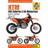 Haynes manual: KTM EXC Enduro & SX Motocross (00-07)