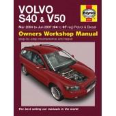 Haynes manual: Volvo S40 & V50 Petrol & Diesel (Mar 04-Jun 07)
