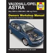 Haynes manual: Vauxhall/Opel Astra Petrol (May 04-08) 04 to 08