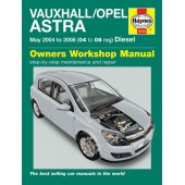 Haynes manual: Vauxhall/Opel Astra Diesel (May 04-08) 04 to 08