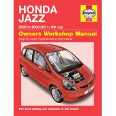 Haynes manual: Honda Jazz (02-08) 51 to 08