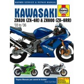Haynes manual: Kawasaki ZX-6R (03-06)