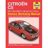 Haynes manual: Citroen C5 Petrol & Diesel (01-Mar 08) Y to 08