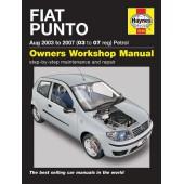 Haynes manual: Fiat Punto Aug 2003 to 2007 (03 to 07 reg) Petrol