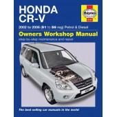 Haynes manual: Honda CR-V Petrol & Diesel (02-06) 51 to 56