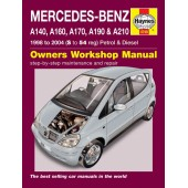 Haynes manual: Mercedes-Benz A-Class Petrol & Diesel (98-04) S to 54