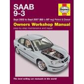 Haynes manual: Saab 9-3 Petrol & Diesel (Sept 02-Sept 07) 52 to 57