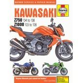 Haynes manual: Kawasaki Z750 & Z1000 (03-08)