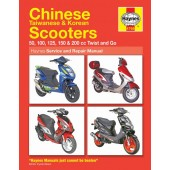 Haynes Chinese Taiwanese & Korean Scooters