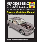 Haynes manual: Mercedes-Benz C-Class Petrol & Diesel (Sept 00-May 07) X to 07