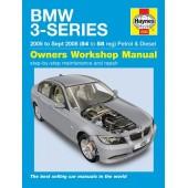 Haynes BMW 3-Series petrol & diesel (05 - Sept 08) 54 to 58