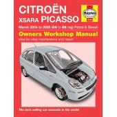 Haynes manual: Citroen Xsara Picasso Petrol & Diesel (Mar 04-08) 04 to 58