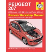 Haynes manual: Peugeot 207 Petrol & Diesel (06-July 09) 06 to 09