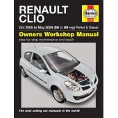 Haynes manual: Renault Clio Petrol & Diesel (Oct 05-May 09) 55 to 09