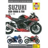 Haynes manual: Suzuki GSX-R600 & 750 (06-09)