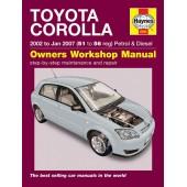 Haynes manual: Toyota Corolla (02-Jan 07) 51 to 56