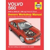 Haynes manual: Volvo S60 Petrol & Diesel (00-08) X to 58