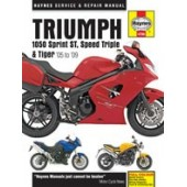 Haynes manual: Triumph 1050 Sprint ST, Speed Triple & Tiger (05-09)
