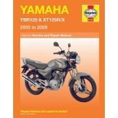 Haynes manual: Yamaha YBR125 & XT125R/X (05-09)