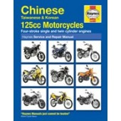 Haynes Chinese, Taiwanese and Korean 125 cc Motorcycles