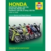 Haynes manual: Honda 125 Scooters (SH, SES, NES, PES & FES 125) (00-09)