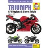 Haynes manual: Triumph 675 Daytona & Street Triple (06-10)