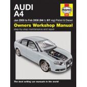 Haynes Audi A4 Petrol & Diesel (Jan 05 to Feb 08) 54 to 57