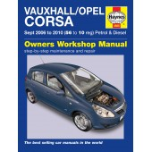 Haynes Vauxhall/Opel Corsa (Sept 06 - 10) 56 to 10