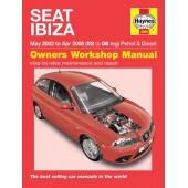 Haynes Seat Ibiza Petrol & Diesel (May 02 - Apr 08) 02 to 08