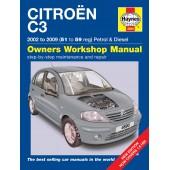 Haynes Citroën C3 Petrol & Diesel (02 - 09) 51 to 59