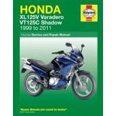 Haynes Honda XL125V & VT125C (99 - 11)