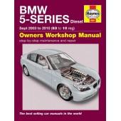 Haynes manual: BMW 5 Series diesel (03-09) 03 to 59