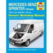 Haynes manual: Mercedes-Benz Sprinter (95-06) M to 06