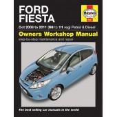 Haynes Ford Fiesta Petrol & Diesel (08 - 11) 58 to 11