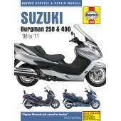 Haynes Suzuki Burgman 250 & 400 (98 - 11)