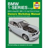 Haynes BMW 1-Series 4-cyl Petrol & Diesel (04 - Aug 11) 54 to 11