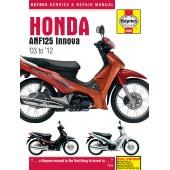 Haynes Honda ANF125 Innova Scooter (03 - 12)