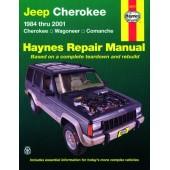 Haynes manual: Jeep Cherokee, Wagoneer and Comanche (84-01)