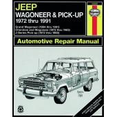Haynes Jeep Wagoneer & Pick-up (72 - 91)