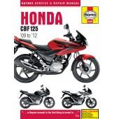 Haynes Honda CBF125 (09 - 12)