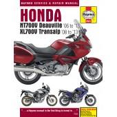 Haynes Honda NT700V Deauville & XL700V Transalp (06 - 13)