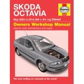 Haynes Skoda Octavia Diesel (May 04 - 12) 04 to 61