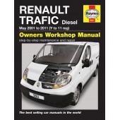 Haynes Renault Trafic Diesel (01 -11) Y to 11