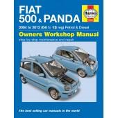 Haynes Fiat 500 & Panda Petrol & Diesel (04 - 12) 53 to 61