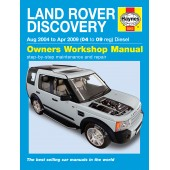 Haynes Land Rover Discovery Diesel (Aug 04 - Apr 09) 04 to 09