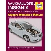 Haynes Vauxhall/Opel Insignia (08 - 12) 08 to 12