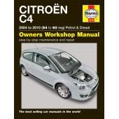 Haynes Citroën C4 Petrol & Diesel (04 - 10) 54 to 60